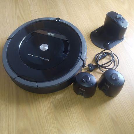 Aspirador Irobot Roomba 880 Avaria no carregamento
