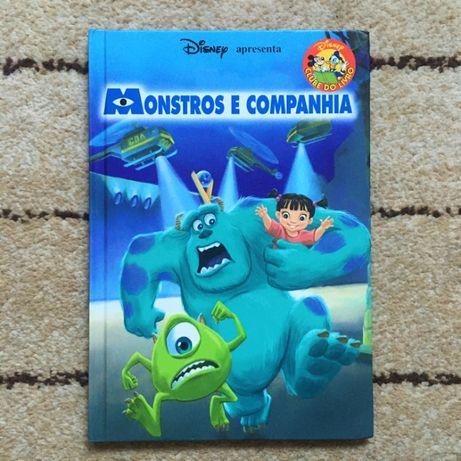 Livro - Disney Apresenta - Monstros E Companhia