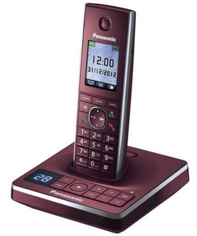 Продам бордовый радио (DECT) телефон Panasonic KX-TG8561