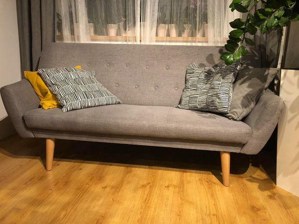 Sofa Nordic 3 na nóżkach, styl skandynawski,
