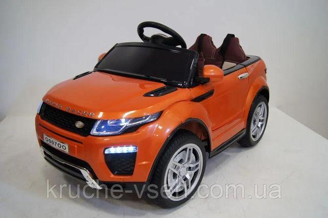 Детский электромобиль Джип M 3213, Land Rover, колеса EVA, кожа, аморт