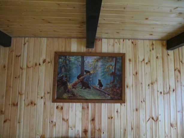 КАРТИНА Утро в сосновом лесу СССР