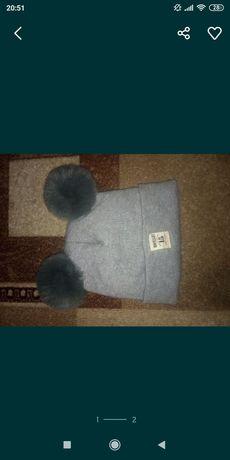 Продам шапку на ребенка, шапочку на мальчика, девочку