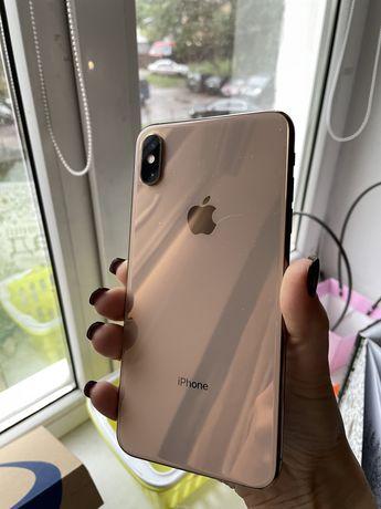 iphone XsMax 256gb з оригіналоним чохлом батареєю