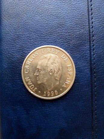 2000 PTAS 1995 и 1996год монета Испании