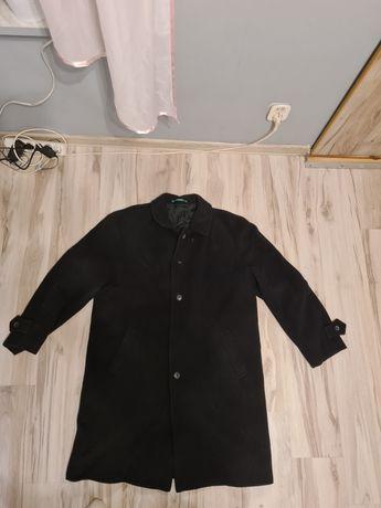 Męski czarny płaszcz Canda