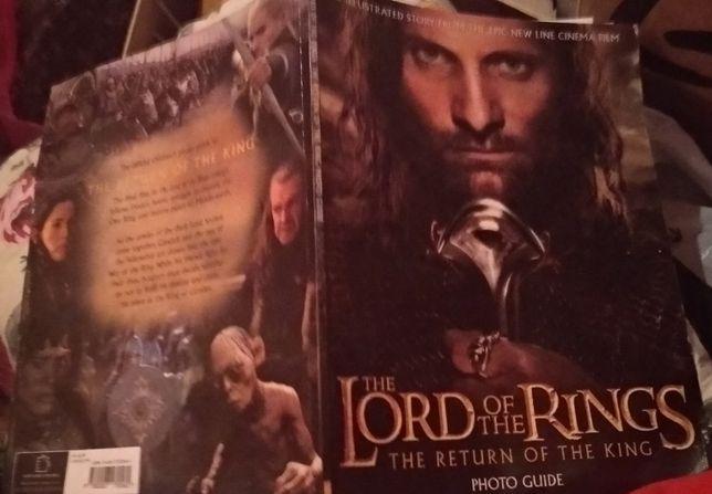 книга Властелин колец Return of the King Photo Guide Lord of the Rings