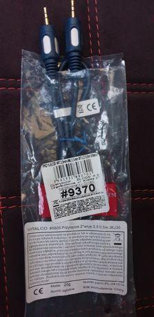 kabel / przewód AUX  jack - jack 3,5 mm 0,5m