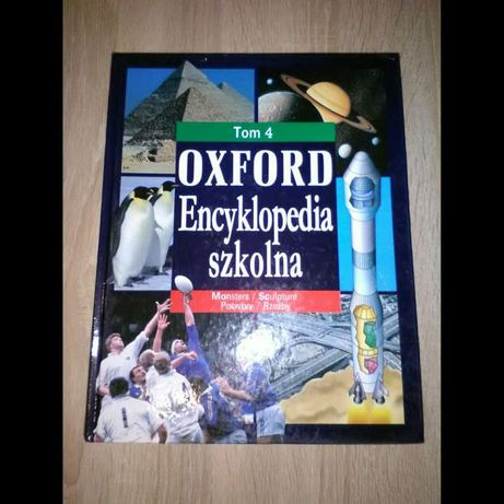 Książka - Oxford Encyklopedia szkolna.