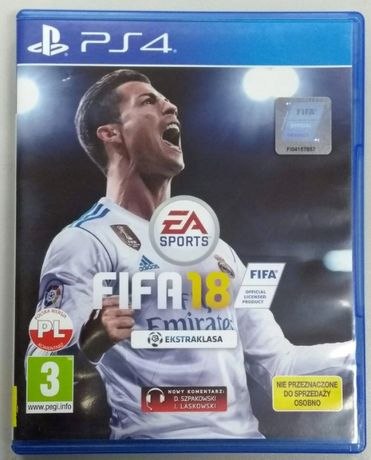Gra PlayStation4 FIFA 18 LOMBARD66