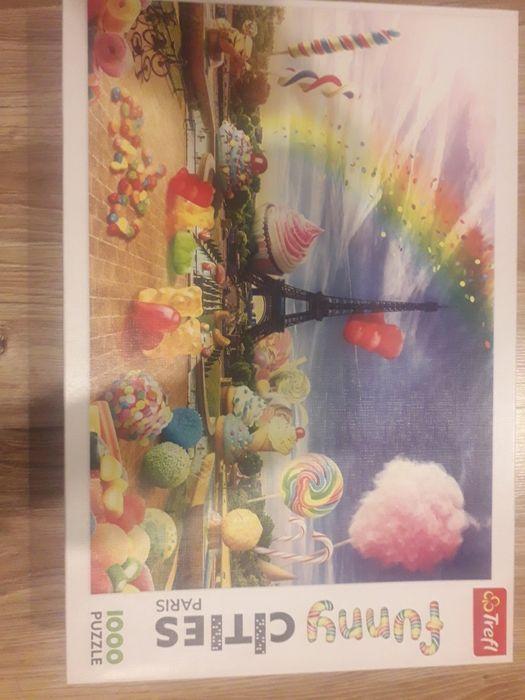Trefl puzzle 1000 Katowice - image 1