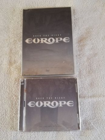 Cd +dvd da famosa banda dos anos 80 EUROPE