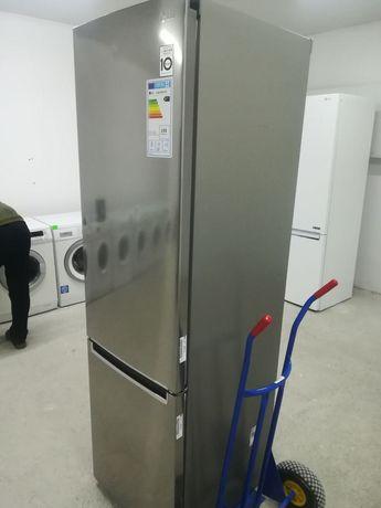 Оригінал Новий Холодильник LG 2м No Frost металик ДОСТАВКА БЕЗПЛАТНО