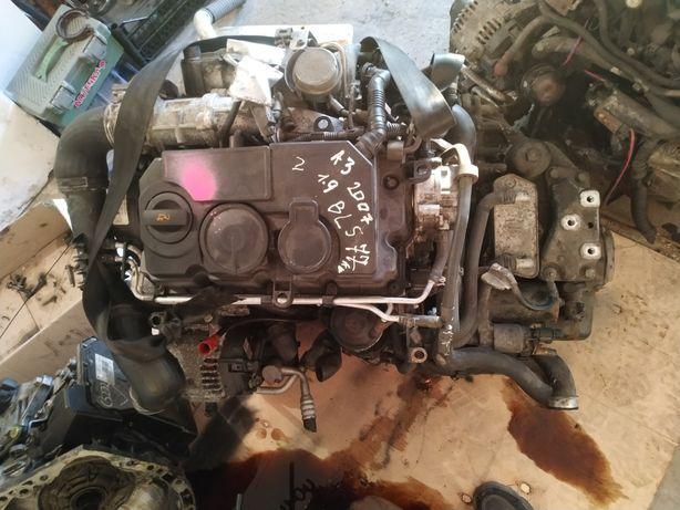 Мотор dsg6 турбина насосфорсунки bls 1.9 tdi Octavia caddy a3 bsu