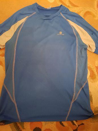 Koszulka sportowa Decathlon niebieska roz. M