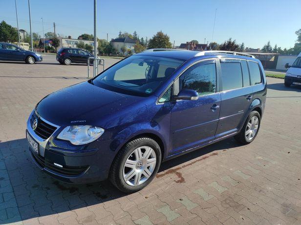 VW Touran 2.0tdi ,bmm,140km ,2007r , 7dmio osobowy