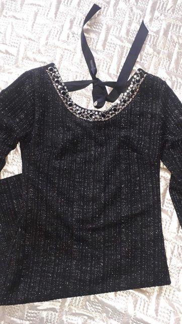 Эффектное обтягивающее платье люрекс