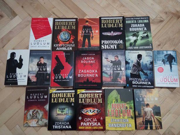 Zestaw 17 książek R. Ludlum