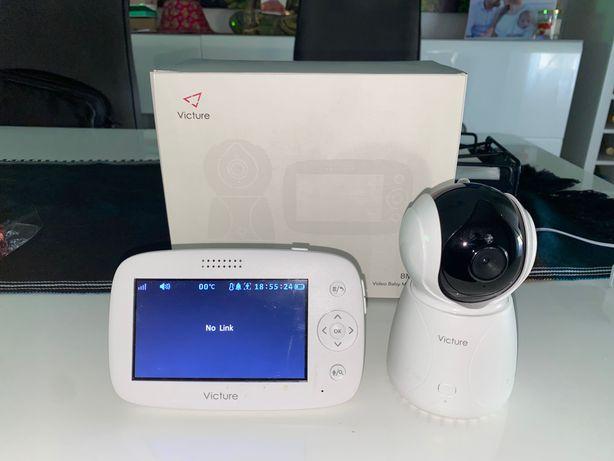 Camara com Monitor de vigilância de bebés