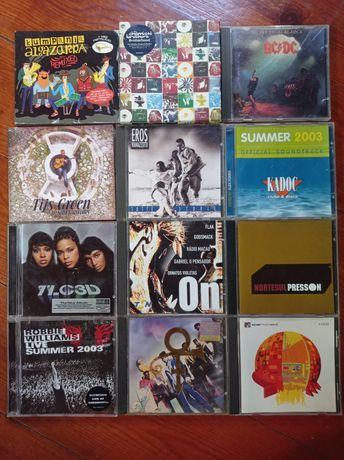 CD's música, vários