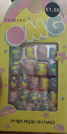 Накладные ногти детские