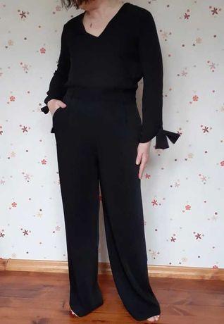 Elegancki czarny kombinezon Zara L