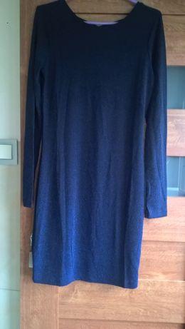 Sukienka tunika RESERVED M błyszcząca nitka