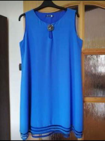 Sukienka trapezowa ciążowa r. 42