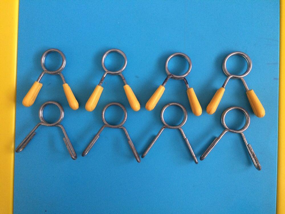 Molas para barras de alteres 2,5 cm
