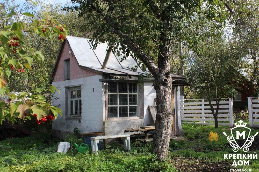 Продам 8 соток сада, и кирпичный домик в черте города. Чернигов - изображение 1