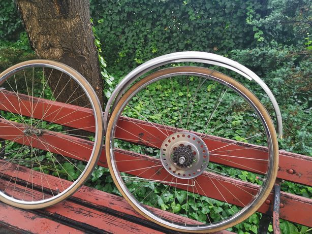 """Komplet kół 27 """"do zabytkowych rowerów Romet"""