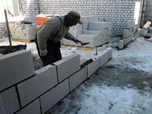 Каменщики Одесса | Строим стены и внутренние перегородки из газоблоков