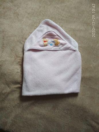Ręcznik/kocyk z kapturem