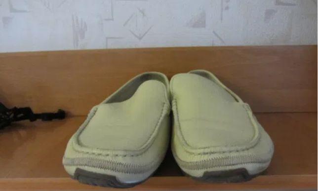 Летние мужские туфли -макасины BRASKA р.44 стелька 29 см