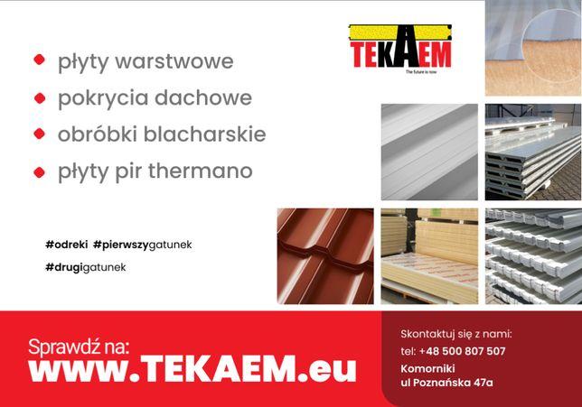 Blacha Trapezowa Ocynk AZ T18 Tanie blachy trapezowe 2 gatunek Poznań