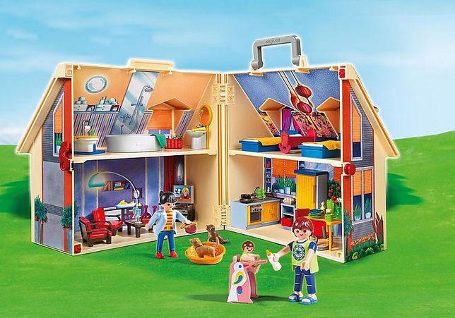 Casa de boneca Maleta Playmobil