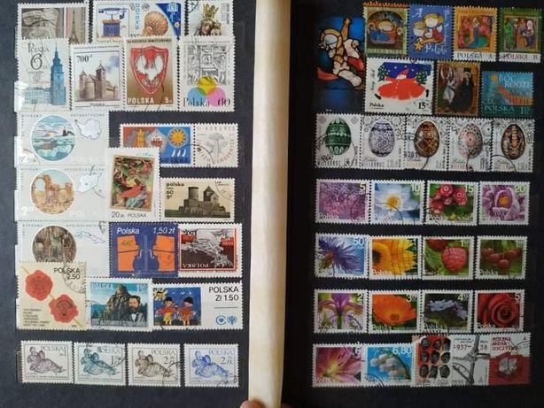 Klaser 510 szt znaczków Polska Europa Rosja znaczki