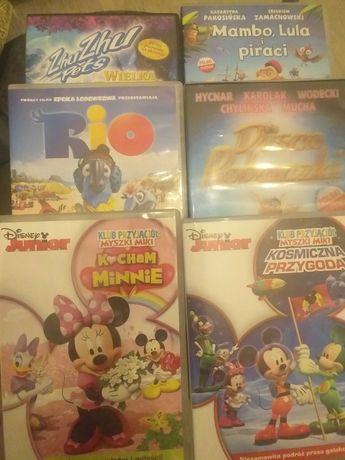 Bajki dvd Disney klub przyjaciół myszki Miki i inne