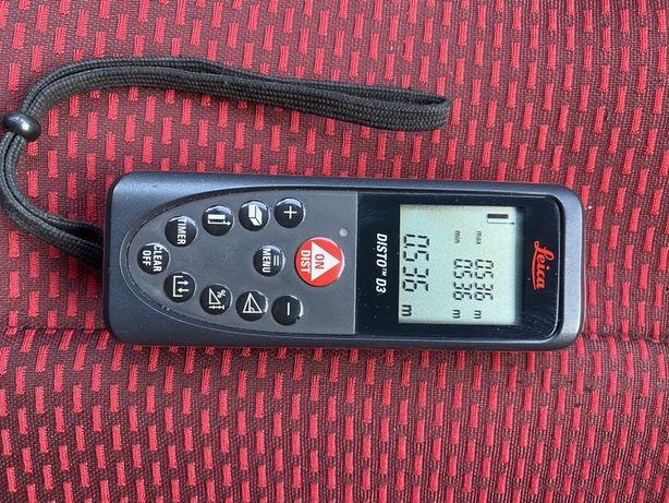 Продам лазерный дальномер,лазерная рулетка leica disto D3