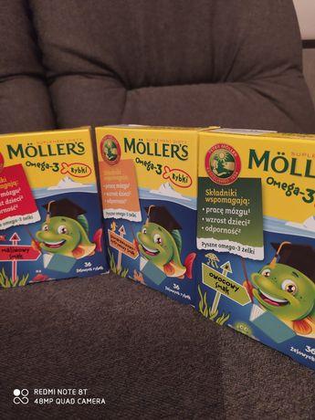 Моллерс омега 3 Möllers вітаміни рибки rybki дієтична добавка БАД
