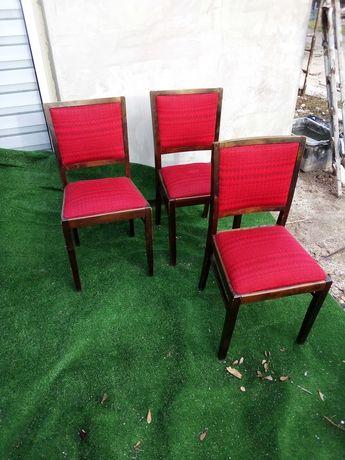 Krzesła prl lata 70 Goscinska fabryka mebli