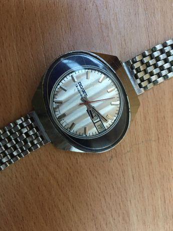 Мужские наручные часы Полет СССР 17 камней, ретро часы, годинник,