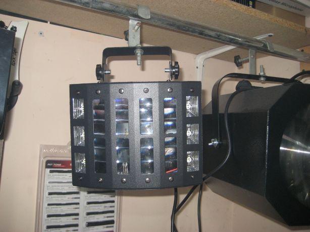 светомузыка светодиодная LED derby 9*3 w стробоскоп ультрафиолет