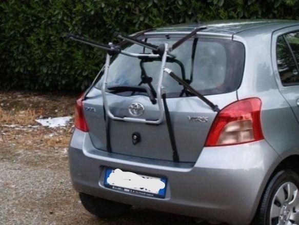 Porta-bicicletas para traseira suspenso
