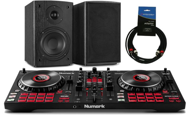 Numark Mixtrack Platinum FX z Monitorami Zestaw DJ