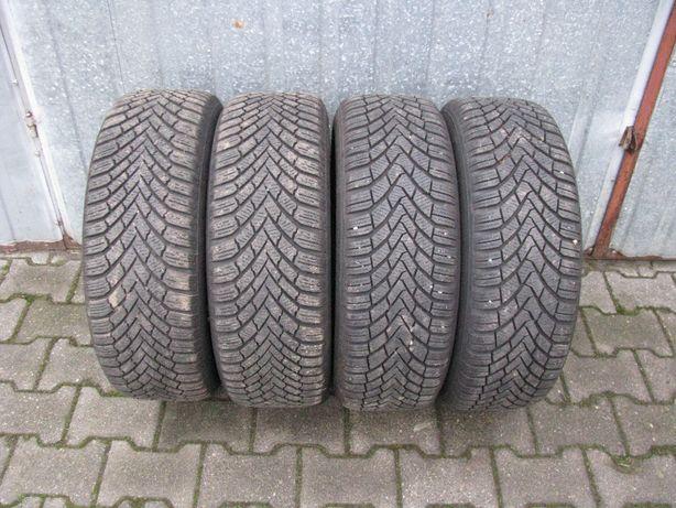 Koła zimowe stalowe 16 VW Audi Skoda Seat 205/55/16 Continental 7-8mm
