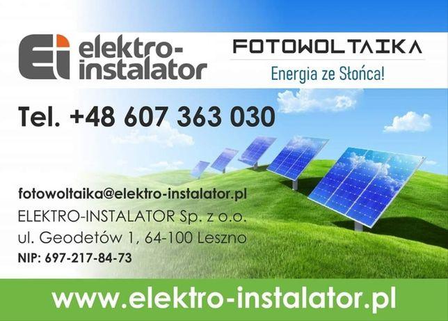Fotowoltaika Leszno ELEKTRO-INSTALATOR Sp z o.o.