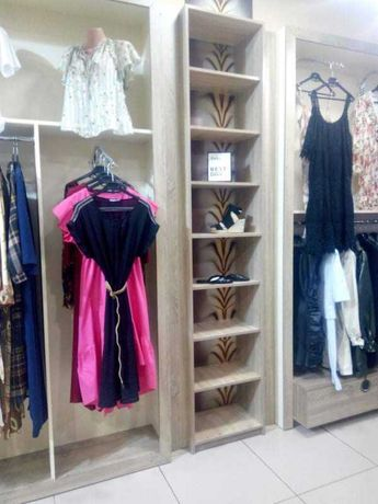 Продам торговое оборудование для бутика, мебель для гпрдеробной