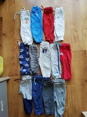 Spodnie 80/86 chłopięce