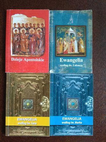 Ewangelie i Dzieje Apostolskie wersja kieszonkowa